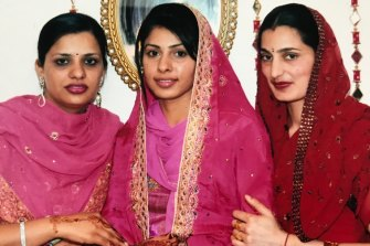 Parwinder Kaur (right) died in December 2013 after suffering burns to 90 per cent of her body in a petrol-fuelled blaze.
