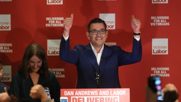 Daniel Andrews' election win in November made Canberra take notice.