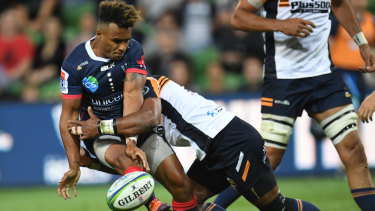 Will Genia was a star for the Rebels.