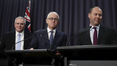 Canberra's leadership crisis hurt consumer confidence.