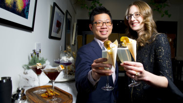 Altina Drinks founders Alan Tse and Christina DeLay are taking on Australia's drinking culture.