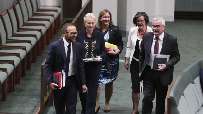 The crossbench will threaten the government's control on the floor of the House of Representatives on Thursday.