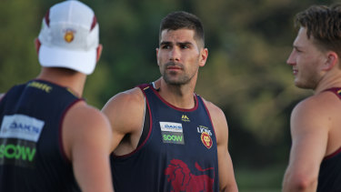 Marcus Adams looks forward to playing for his new team the Brisbane Lions.