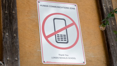 Lorien Novalis had a phone ban long before its recent implementation across all NSW public primary schools.