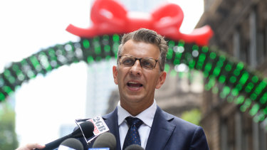 Transport Minister Andrew Constance sought to allay fears about construction of Parramatta's light rail line.