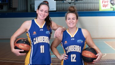 Keely Froling and Kate Gaze will suit up for Canberra together again.
