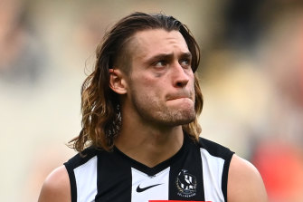 Darcy Moore will move back to defence this weekend.