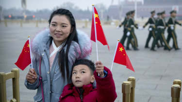 China reported had steady 6.4 per cent annual growth in January-March.