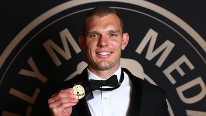 Turbo the jet: Tom Trbojevic caps brilliant year with Dally M Medal