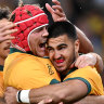 Wallabies hope free-to-air TV exposure will see league fans 'turn codes'
