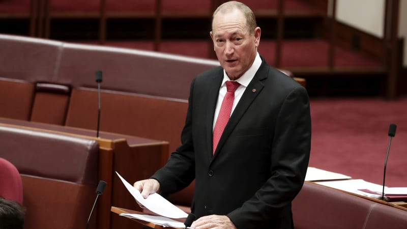 Fact check: Testing the claims in Fraser Anning's first speech to Parliament