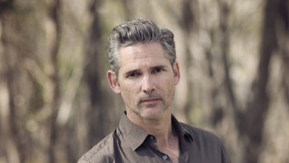 What's striking about Eric Bana's new audio drama? His broad Australian accent
