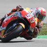 Marquez means business at Australian MotoGP