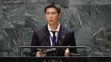 BTS at the UN.