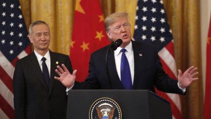 US-China trade deal threatens Australian exporters