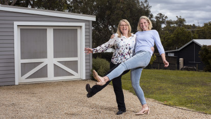 When Amy Touzell nearly gave up on her dream career, her 'mentor mum' Alison Taylor stepped in