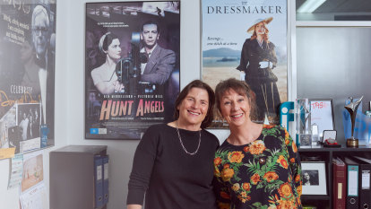 'The Dressmaker' was a stressmaker – but it brought two friends together after 30 years