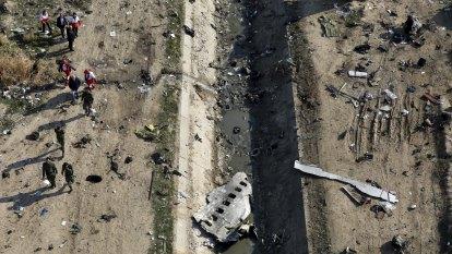 Iran retrieves data, parts of cockpit talk from downed Ukraine plane