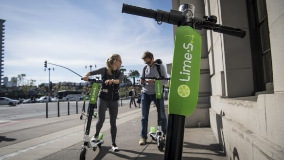 Uber to invest in electric scooter-rental business
