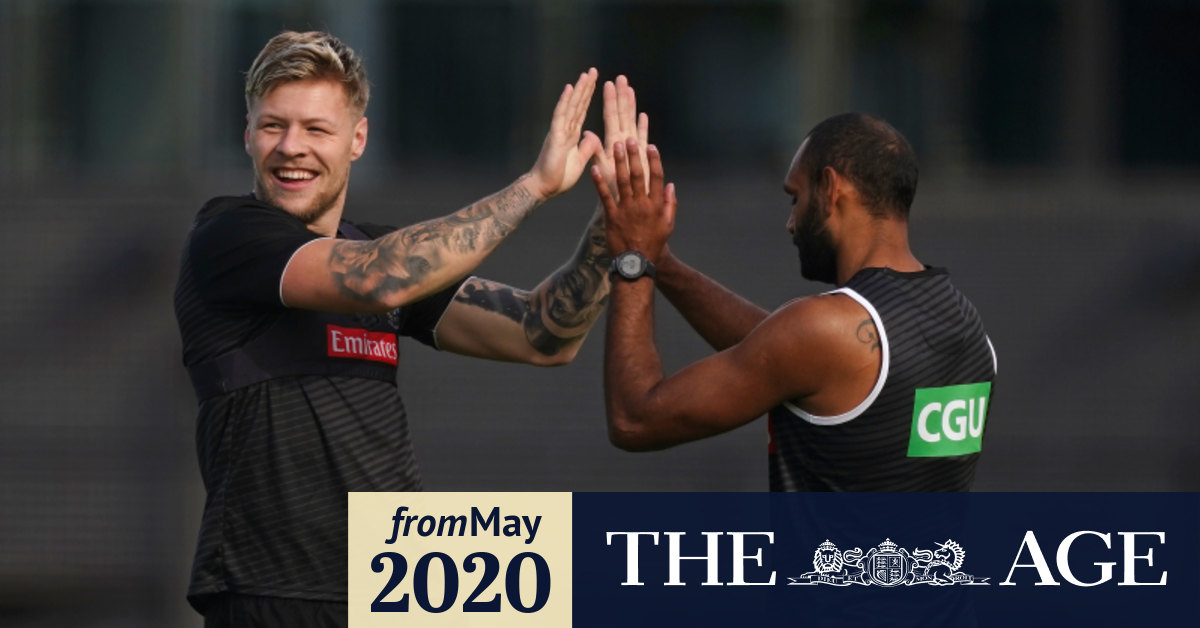 Afl 2020 Jordan De Goey Contrite After Driving Charges Adam Treloar Out Of Collingwood V Richmond Clash Says Nathan Buckley