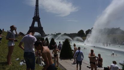 France records highest temperature ever as Europe fries in heatwave