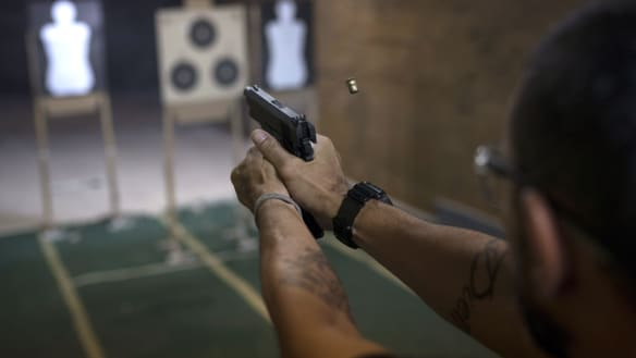'Life and death': fear and zeal over more guns in violence-plagued Brazil