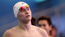 Chinese swimmer Sun Yang.