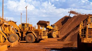 Australia's global iron ore miners helped power the local sharemarket on Thursday.