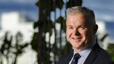 Santos CEO Kevin Gallagher.