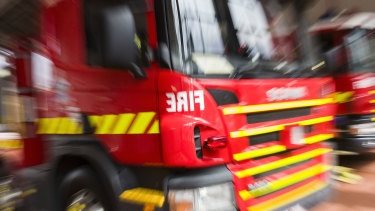 Fire has destroyed a multimillion-dollar property in Centennial Park.