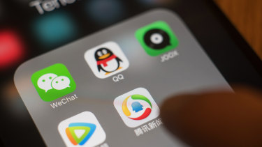 The US has banned residents from doing business with WeChat.