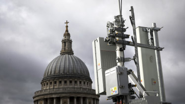 Britain's decision to allow Huawei to take part in the construction of its 5G network has raised concerns in Canberra.