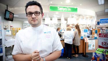 Melbourne pharmacist Anthony Tassone.