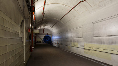 Sydney ghost tunnels eerily quiet two years after revamp plans unveiled
