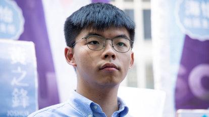 Hong Kong activist Joshua Wong arrested