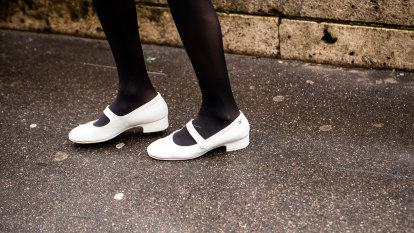 Are we finally over our obsession with sneakers? The catwalk says yes