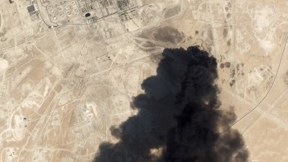Saudi oil refinery attack came from south-west Iran, the US claims