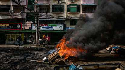 Myanmar security forces kill dozens of protesters: monitoring group