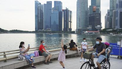 Australia's travel lane with Singapore to open on November 8