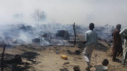 Boko Haram razes village, kills dozens in northern Nigeria