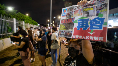China shut down a newspaper, then a city sold out of a million copies