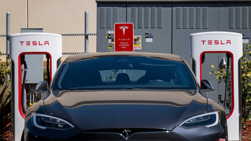 Tesla deal sends lithium minnow up 90 per cent – The Australian Financial Review