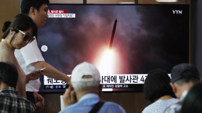 Kim Jong-un says North Korean launches were warning to US and South Korea