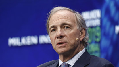 Hedge fund billionaire Ray Dalio sees global economy in a 'great sag'