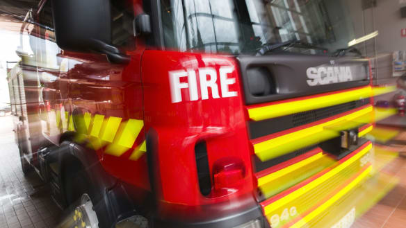 Woman suffers critical burns in kitchen explosion