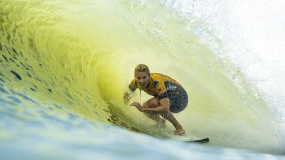 Gilmore's march toward seventh title boosted by second at Surf Ranch Pro