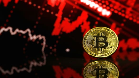 Bitcoin falls amid signs its price could halve again in 2019