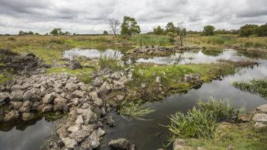 Budj Bim cultural landscape in south-west Victoria.
