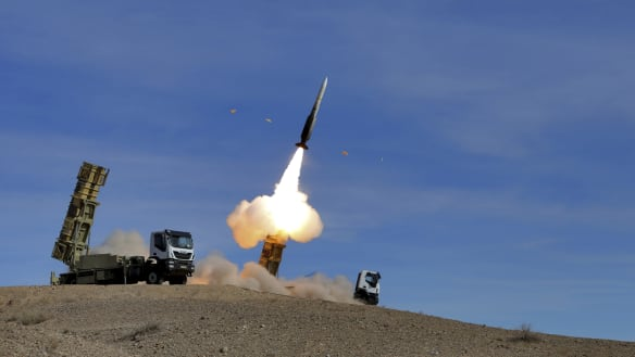 Iran confirms recent ballistic missile test that angered US