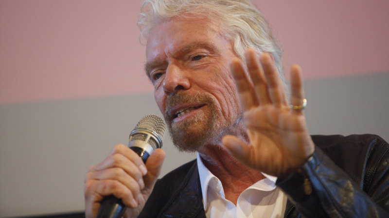 'Australia must stop selling coal': Branson calls for climate 'revolution'